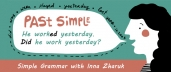 Past Simple. Simple Grammar with Inna Zharuk (English-Russian)