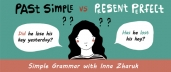 Past Simple vs Present Perfect (English-Russian)