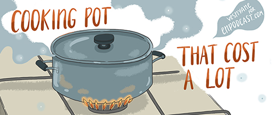 A Cooking Pot That Cost a Lot
