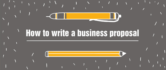 How to draw up a business proposal