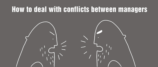 How to deal with conflicts between managers