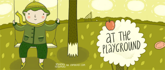 Greeny. Story 8. At the Playground