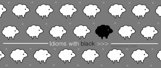 Idioms with Black