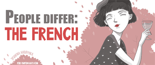 People Differ: the French